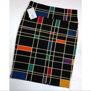 LulaRoe Cassie Pencil Skirt NWT Size XL